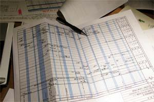 花見川の住宅2 工程表