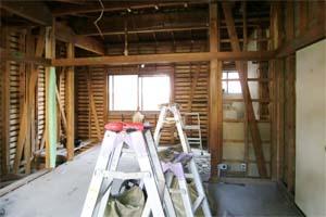花見川の住宅2 解体