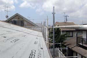 花見川の住宅2 屋根