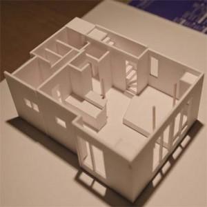 世田谷の住宅2模型