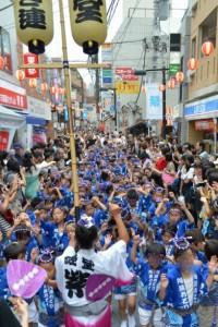 20140720経堂阿波踊り
